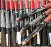 Матовые помады карандаши.