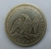 Монета Морган 25грамм