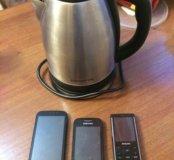 Чайник, телефоны