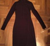 Шикарное платье-водолазка