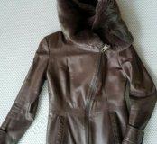 Куртка кожаная Punto