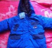 Куртка новая,весна 80/86✨
