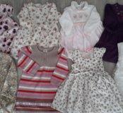 Платья zara, mothercare,  GJ, myoral