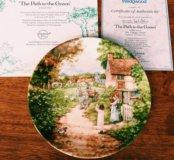 Коллекционная тарелка Wedgwood