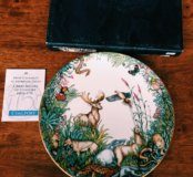 Английская  Коллекционная тарелка Coalport
