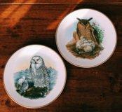 Коллекционные английские фарфоровые тарелки