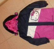 Куртка для девочке на 7-8 лет