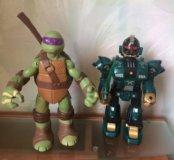 Черепашка-ниндзя и робот