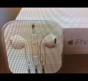 Наушники для iPhone 5. Б/у чуть чуть