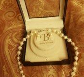 Ожерелье и серьги пусеты Bella Perlina