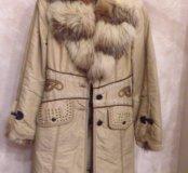 Куртка женская с подкладом (натуральный мех)