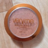 Бронзер very me peach me perfect powder spf 10.