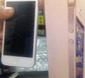 Iphone 5 белый серый