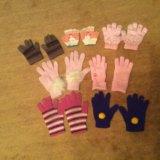 Детские перчатки 2-3, 4-5, 6-7 лет