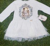 Новое платье 98см