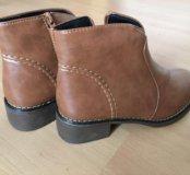 Новые ботинки р35 весна/осень