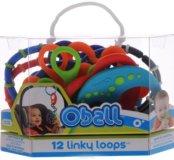 Набор прорезывателей Rhino Toys Oball 12 шт.