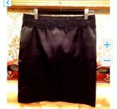 Dolce and Gabbana новая прямая чёрная юбка
