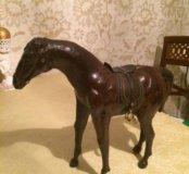 Фигурка лошади 🐴 натуральная кожа