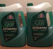 Антифриз зелёный новый 5 литров