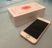 Айфон 5se розовое золото