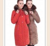 Новое Женское зимнее пальто 46