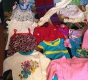 Пакет вещей на девочку от 3 до 4 лет.