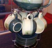 Набор чашек с чайником