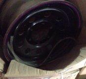 Диск колесный стальной 16х8, 6х139.7, ЕТ+30,черный