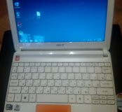 Нетбук 4 ядра 2 Гб 320 гб оранжевый Acer Happy2