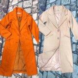 Яркое пальто кашемир тренд 2017 весна-осень