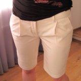 Длинные кремовые шорты Bird by Juicy Couture