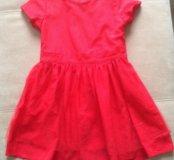 Платье Carters красное для девочки