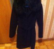 Пальто зимние нат мех