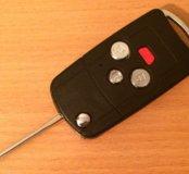 Выкидной ключ тойота нового образца