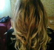 Волосы для наращивания русый блонд