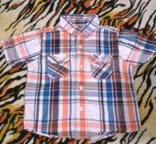 Детская рубашка12-18 месяцев