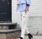 топ Zara с открытыми плечам