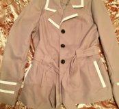 Короткий плащ-пиджак новый