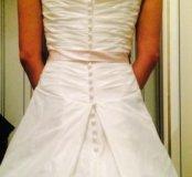 Новое❗️роскошное свадебное платье 👑 р 42-46
