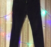 Вельветовые штаны, по моде