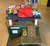 Детский гараж