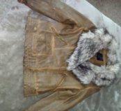 Кожаная куртка INCTY