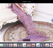 Одеяло - хвост ( новое)