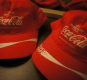 Кепка красная CocaCola