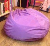 Пуфик фиолетовый