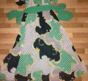 Платье-длинное