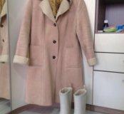 Пальто Gap и сапоги Tretorn