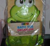Органайзер-лягушка для ванной комнаты