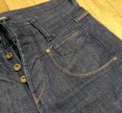 Фирменные джинсовые шорты мужские